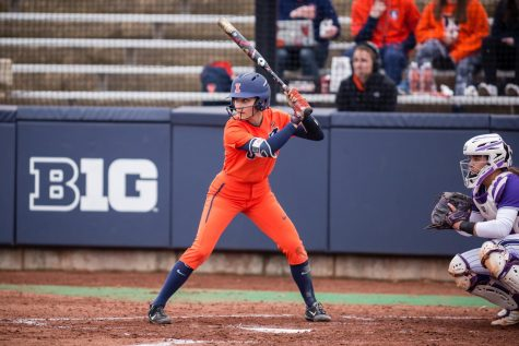 Evans' impact felt on and off field for Illinois softball