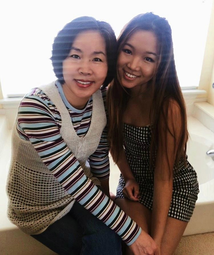 Staff+writer+Arden+Youn+%28right%29+poses+with+her+mother+for+a+photo.+Youn+writes+about+her+relationship+with+her+mom+while+in+college.+