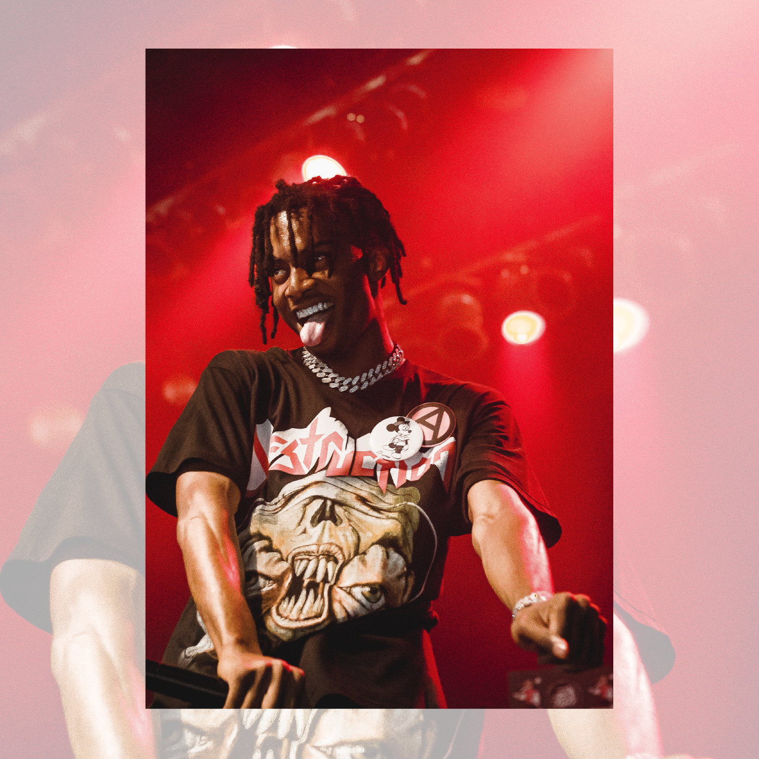 Playboi Carti performing in August 2017. The rapper is a headliner for Pygmalion this year.