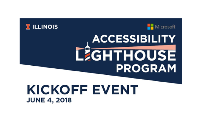 Logo for the Accessibility Lighthouse Program developed by the Office of Corporations.