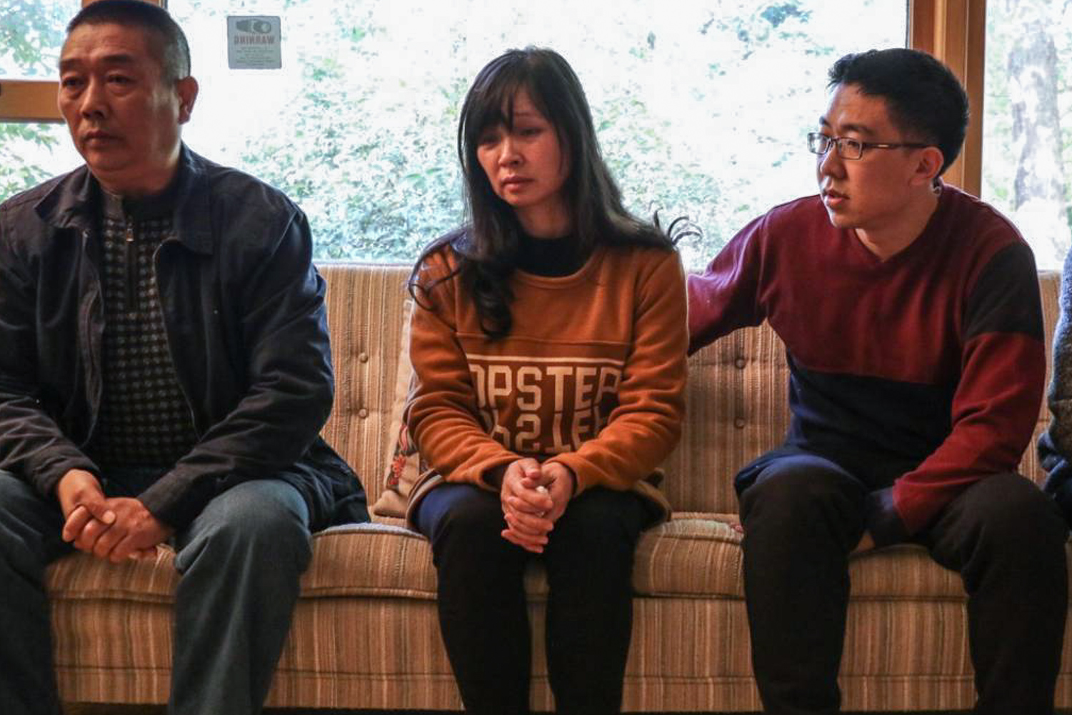 Yingying Zhang's family and boyfriend speak to The Daily Illini from their house on October 27. Saturday marks the one-year anniversary of Zhang's alleged kidnapping.