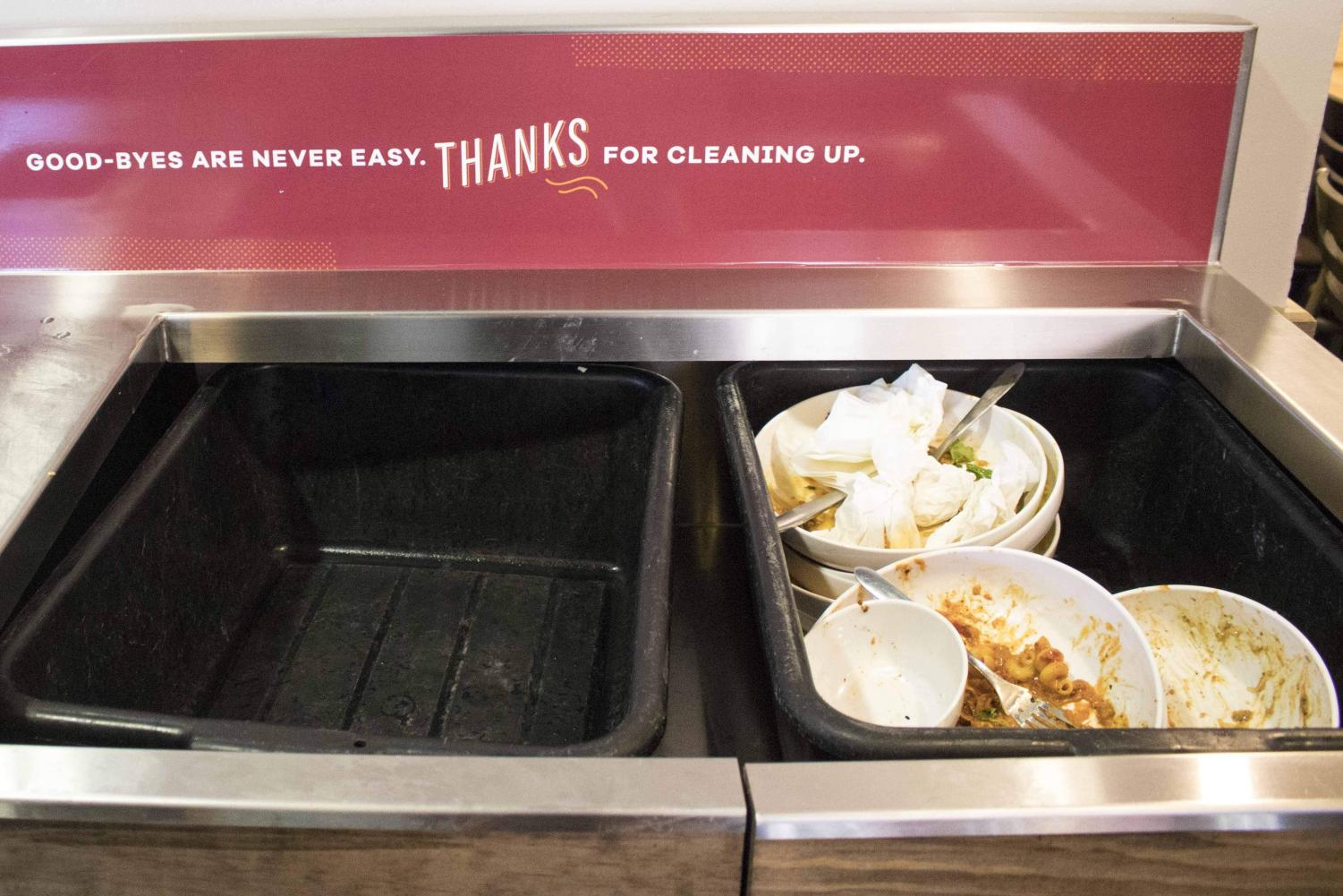 Food waste is commonly found in dining halls and restaurants on campus. A recent study suggests young adults, ages 18-24, are more likely to waste food due to a lack of awareness.