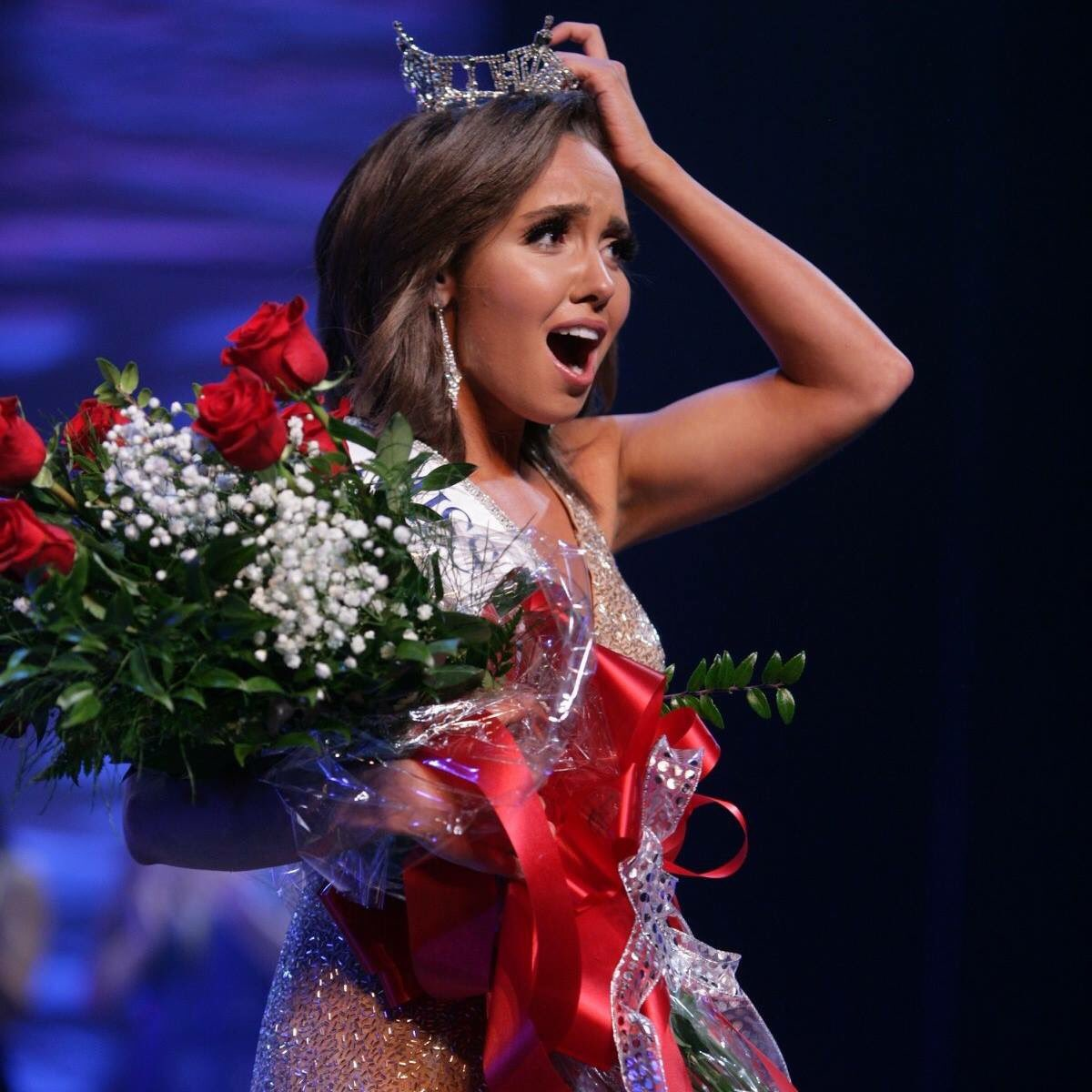 Grace Khachaturian, senior in Journalism, was crowned Miss Illinois 2018.