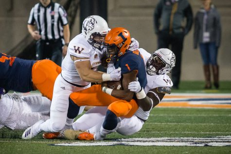 Bush benched, Illini lose second straight