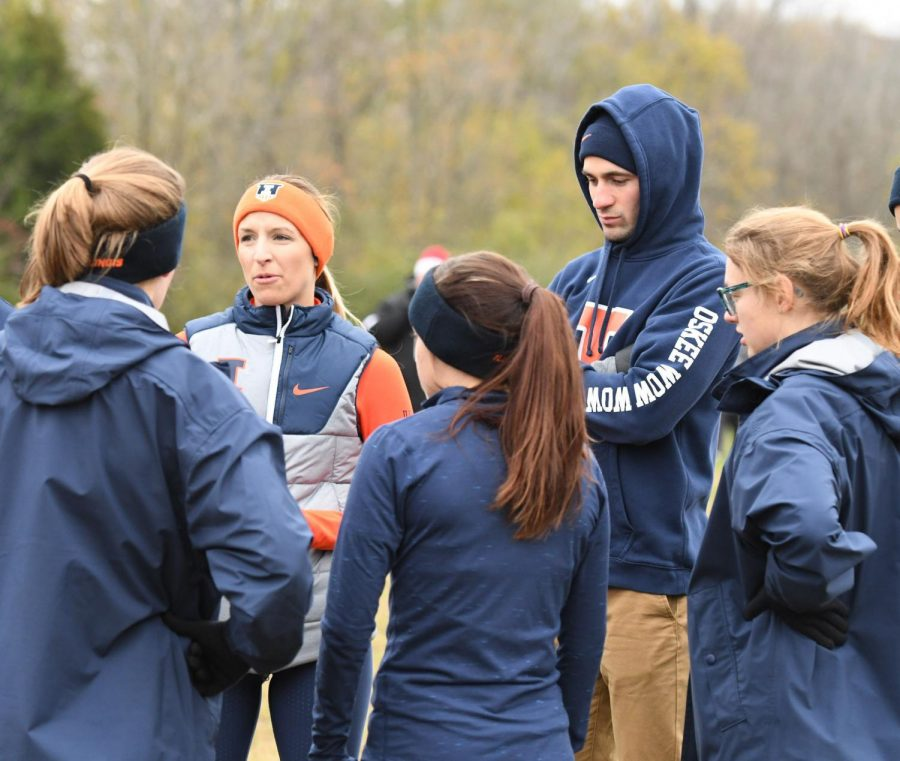 New+head+coach+Sarah+Havemen+takes+helm+of+both+cross-country+teams