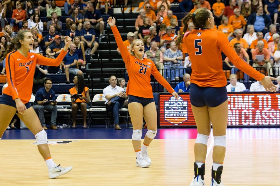 Illinois+sets+up+first+conference+victory