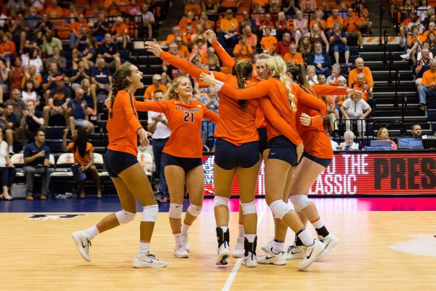 Illini welcome tough Big Ten slate to Huff Hall
