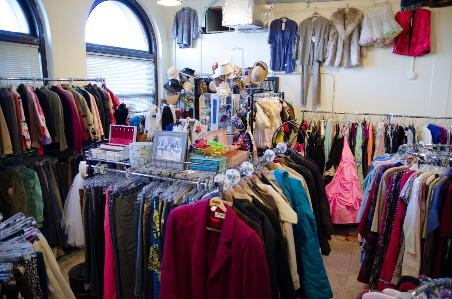 Dandelion Vintage & Used Clothing store is located at 100 N. Chestnut St. downtown Champaign. You can find smaller household items for your desk, bathroom or kitchen in secondhand stores like Dandelion or other locations closer to campus.