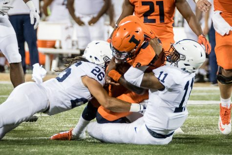 Small playing career not over, but Illinois is his focus