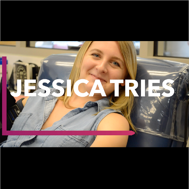 Jessica Tries: Giving blood