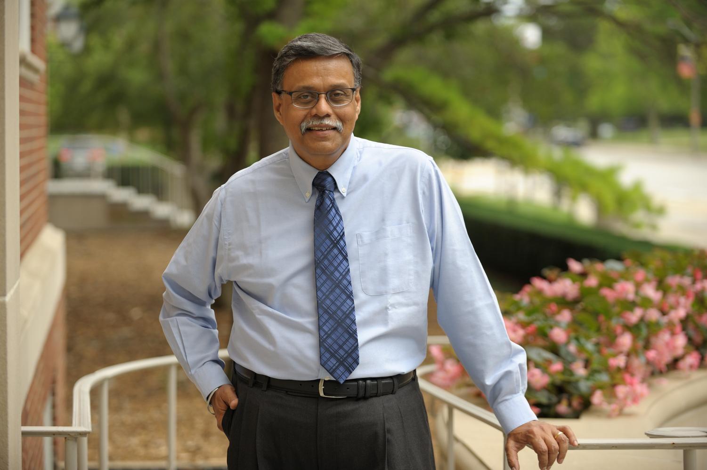 Sridhar Seshadri, professor in Business, poses for a photo.