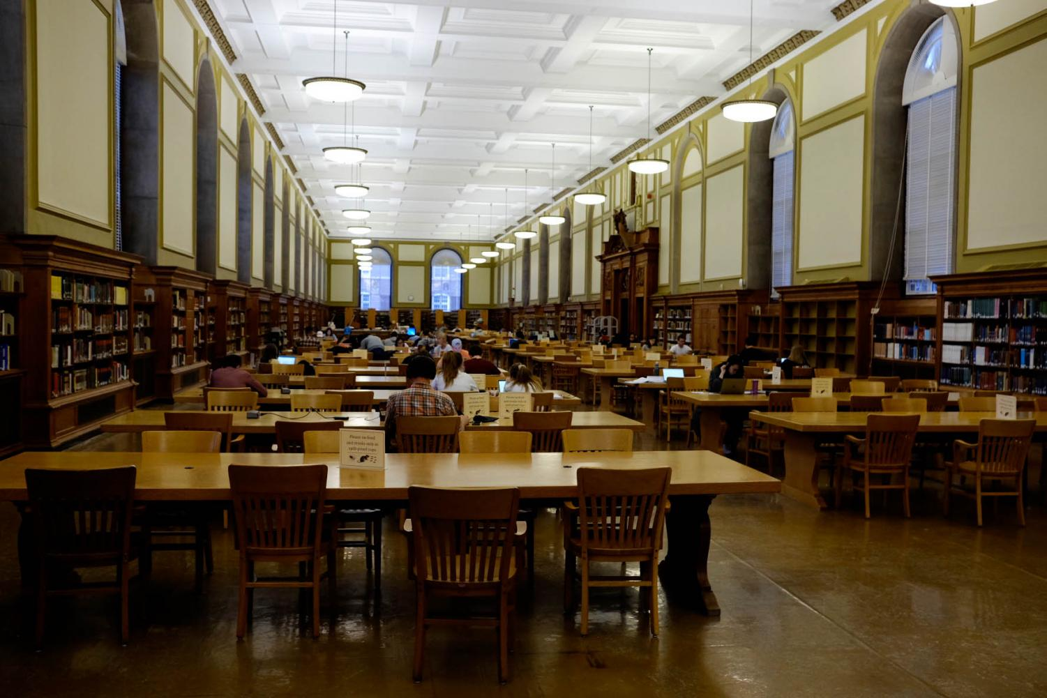 The University has plans to add a modern touch to the Main Library, including adding a Media Commons modeled after the one currently in the Undergraduate Library. The project is scheduled to be completed by 2024.