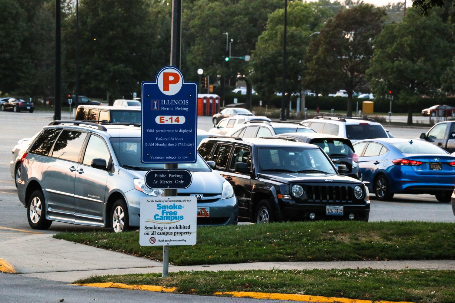 Students complaining about a lack of parking spaces near residence halls may have their concerns alleviated.