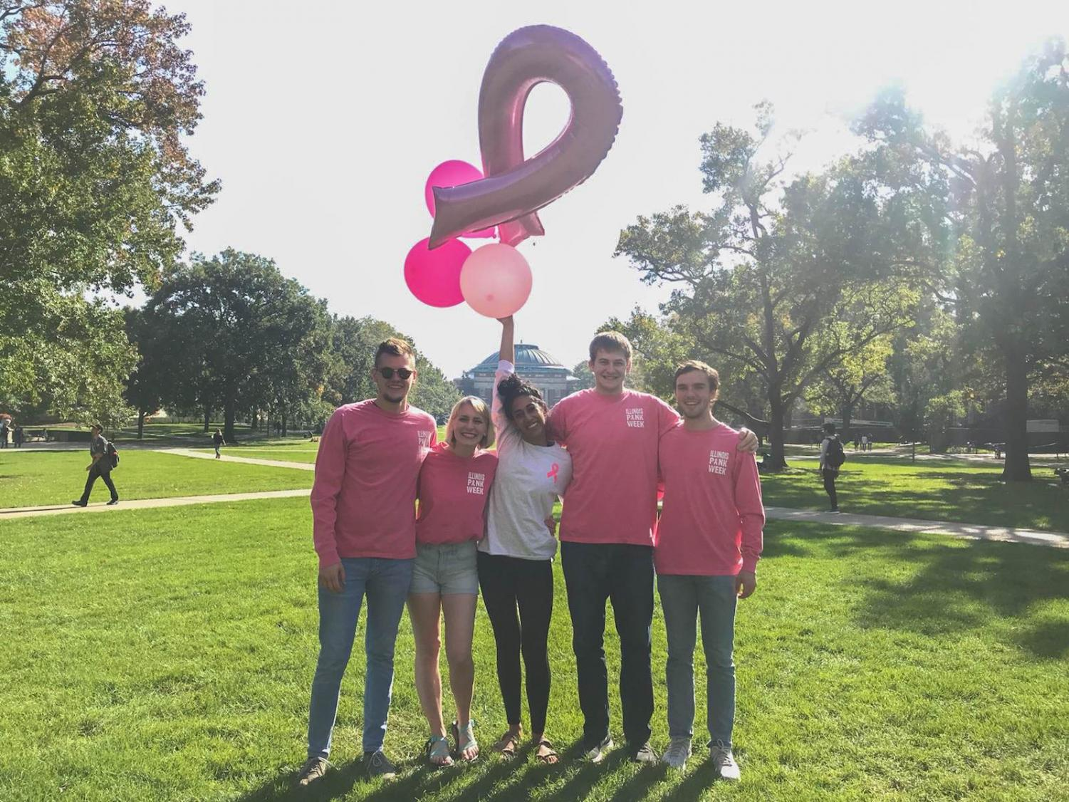 Pink Week is dedicated to breast cancer awareness. Colleges Against Cancer is hosting fundraising events during the week as part of its plans for Breast Cancer Awareness Month.