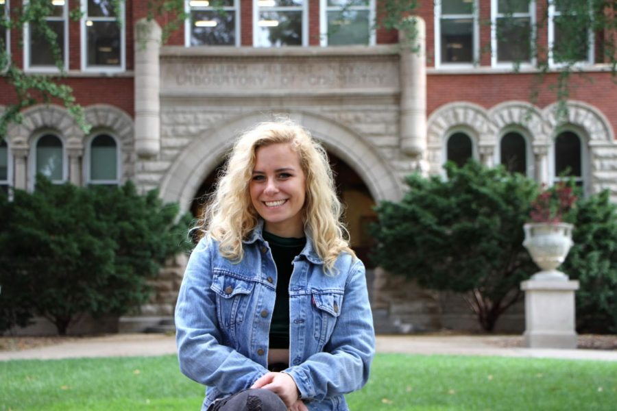 Madeline+Barone%2C+junior+in+LAS%2C+is+the+president+of+a+new-to-Illinois+professional+fraternity+called+Epsilon+Eta.+The+fraternity%E2%80%99s+new+chapter+focuses+on+sustainability%0Aand+is+working+to+promote+a+more+environmentally+friendly+consciousness+on+campus.