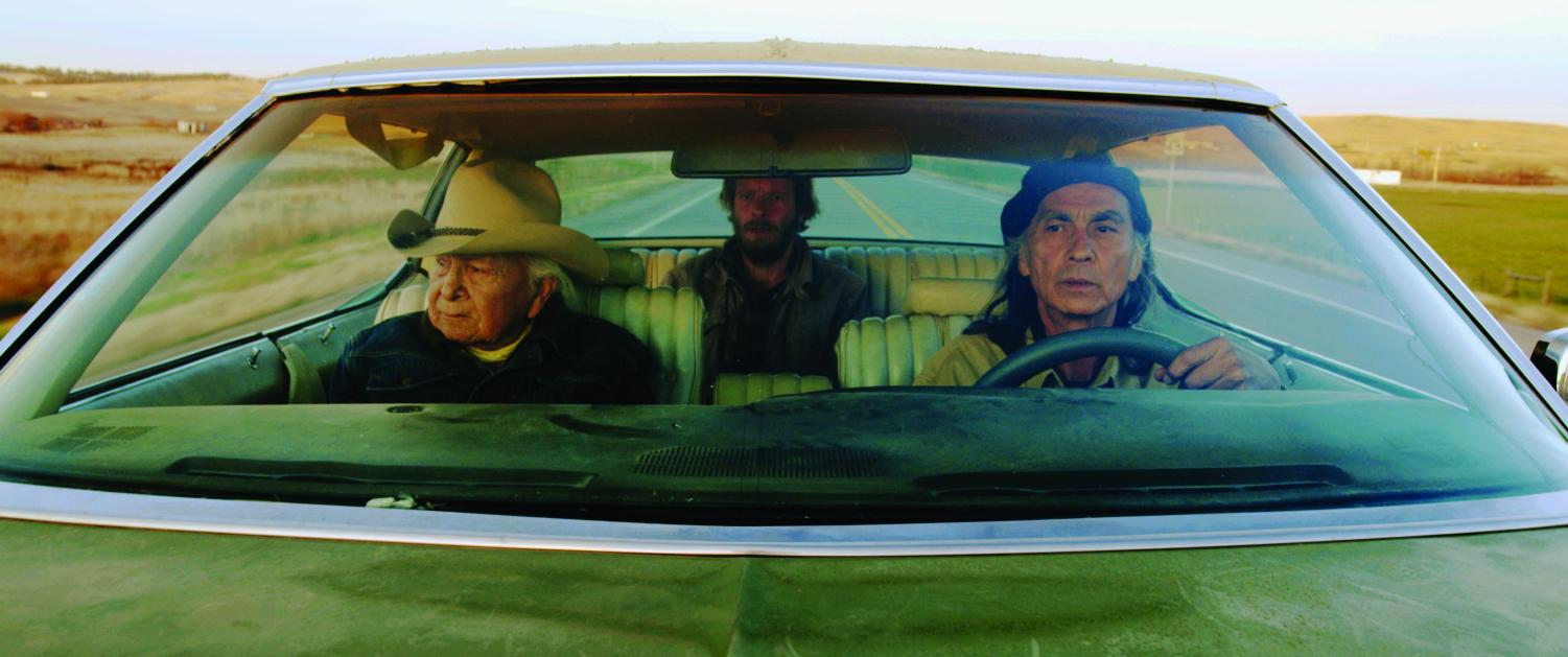 """Neither Wolf Nor Dog,"" is an independent Native American film currently playing at the Goodrich Savoy on Oct. 8 and Oct. 11. Based on a novel, the film provides insight to modern Lakota life, and has had widespread success across the U.S., with a 95 percent on rottentomatoes.com. (From left to right) Dave Bald Eagle, Chris Sweeney and Richard Ray Whitman were the central cast."