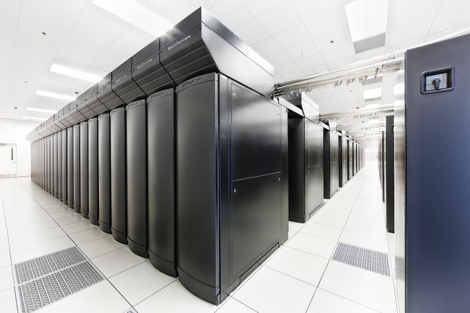 Blue Watersnsupercomputer was used to run the simulation of the black holes.