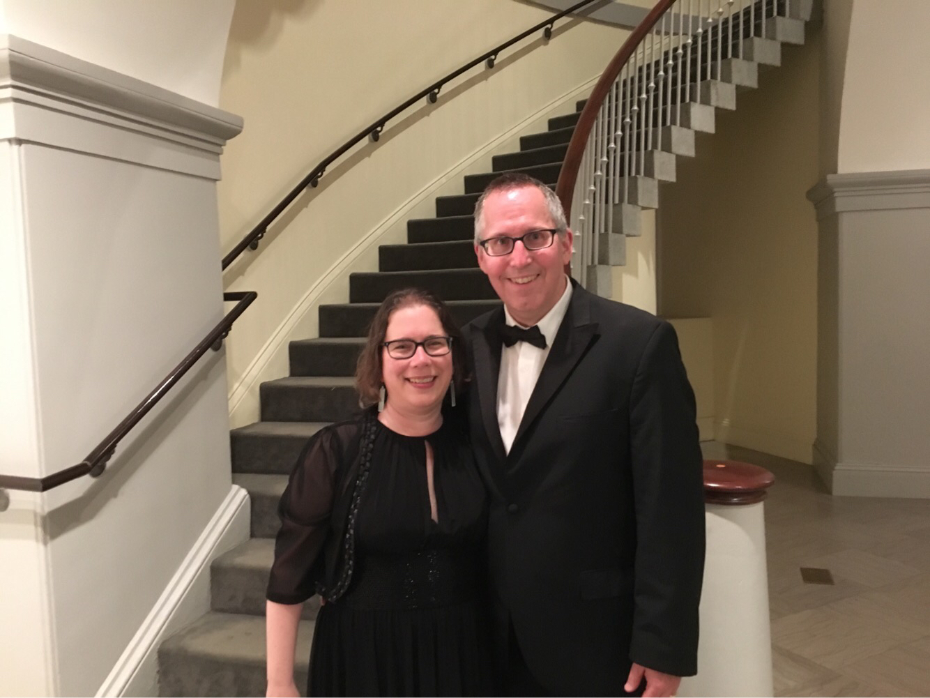 A photo of Professor Robert Francis Murphy and his wife Professor Cathy Murphy.