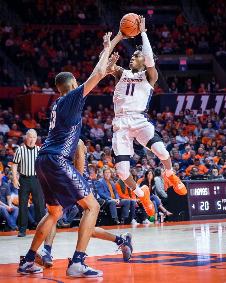 Georgetown upends Illinois despite Dosunmu's high scoring effort