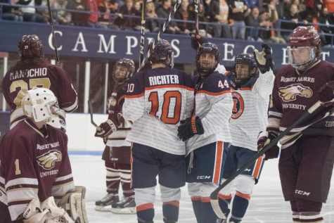 Hockey dominates MSU