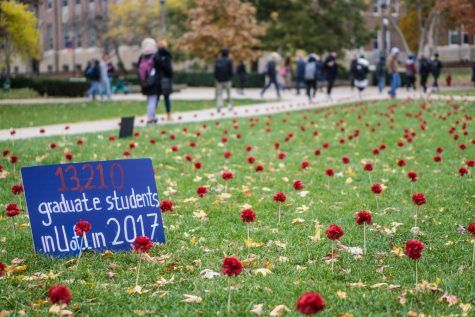 Amnesty International hosts #EndGunViolence event on Main Quad