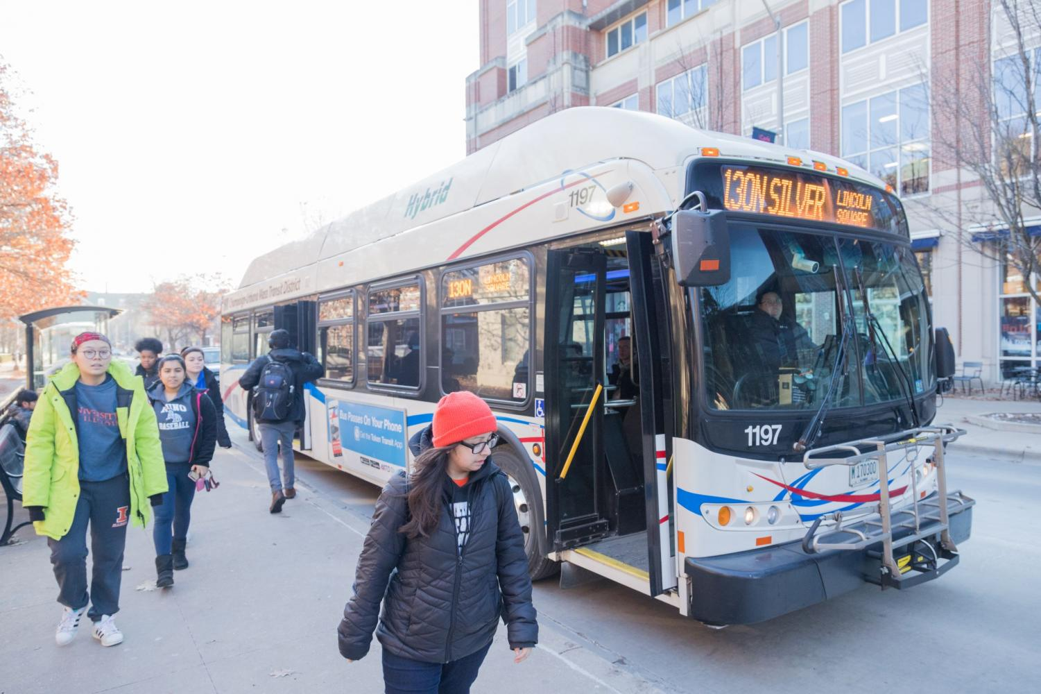 CUMTD buses see a 10 percent increase in ridership in winter. The transit company is trying to keep up with the increase in demand.