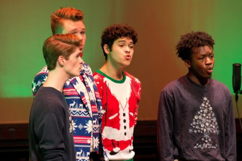 A capella groups ring in holiday season