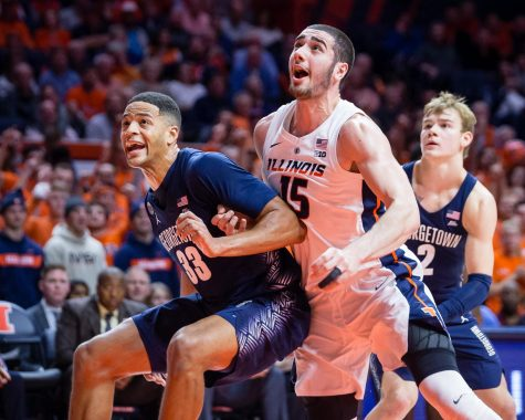 Illinois foul trouble proves costly in early season