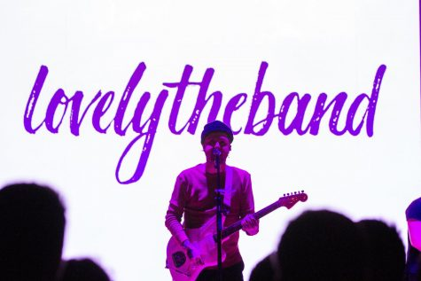 Lovelytheband performs at Foellinger