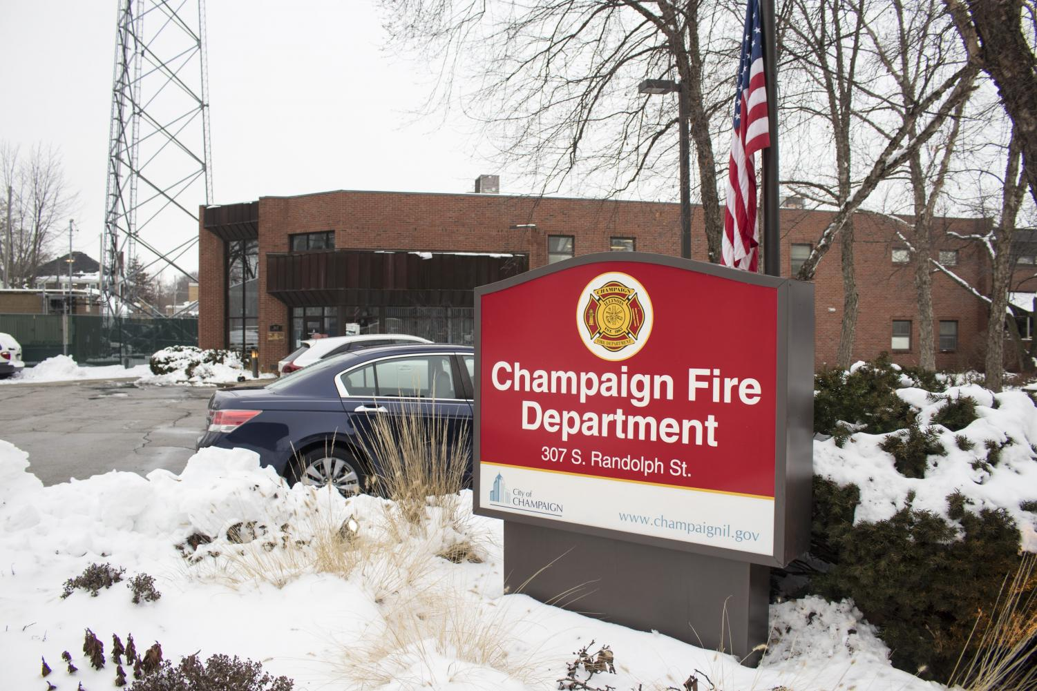 The Champaign Fire Department, located at 307 S. Randolph St.