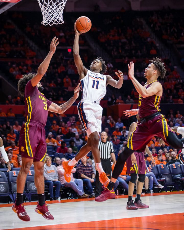 Notes, takeaways from Illinois' first conference win of season