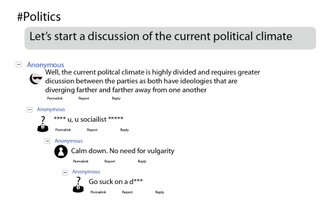 Online lacks meaningful political discourse