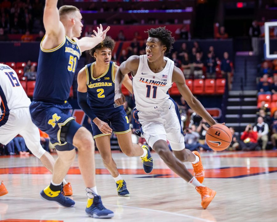 Dosunmu+shines+against+Michigan+as+team+focuses+on+growth