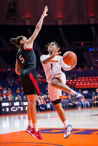 Maryland too tall a task for Illinois women's basketball
