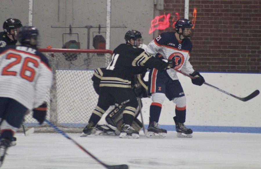 reputable site fc9c0 9e37d Freshman Ryba already leading the way for Illini hockey ...