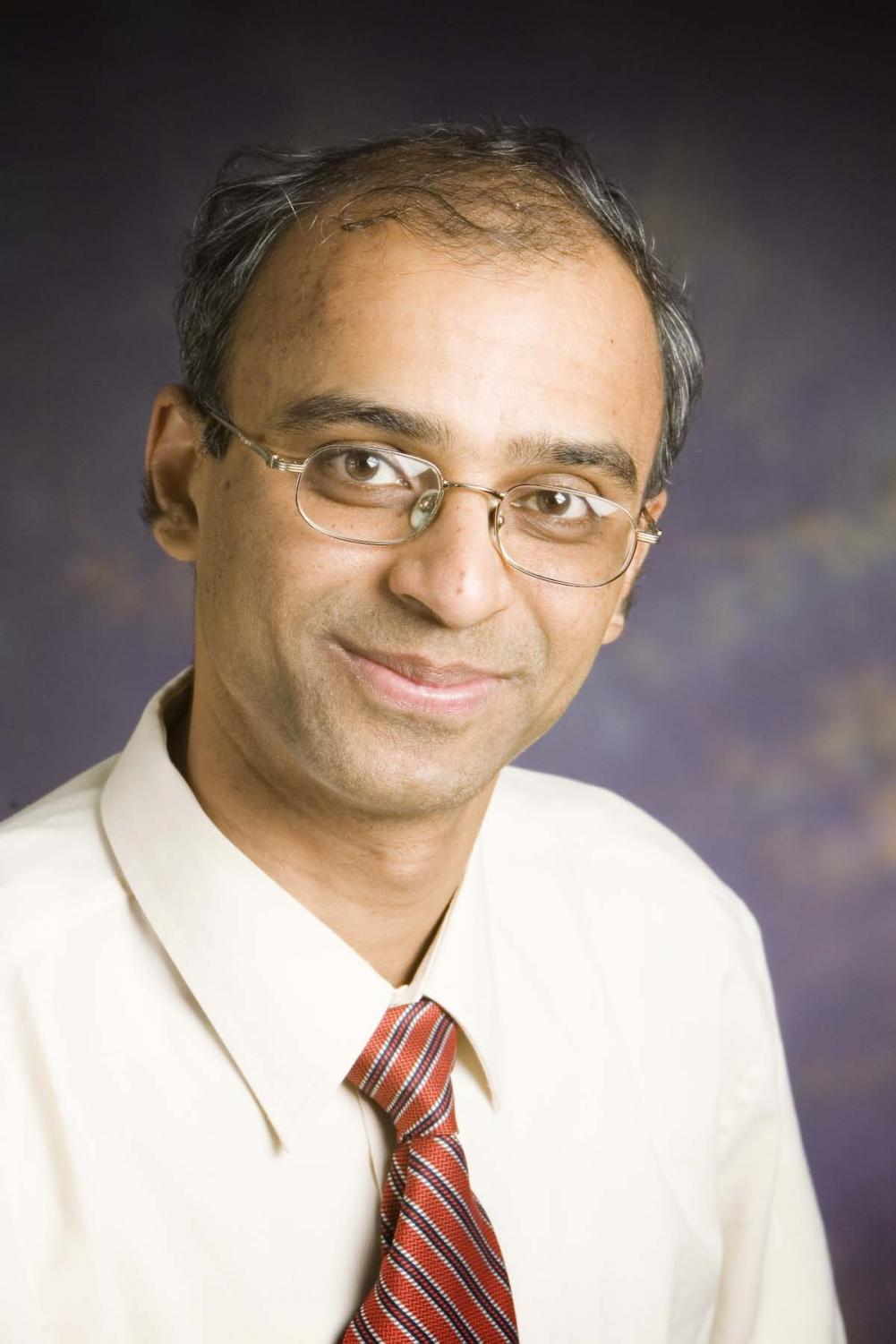 Pramod Viswanath, electrical and computer engineering professor. Along with Professor Andrew Miller, Viswanath is developing a new cryptocurrency  known as Unit-E.
