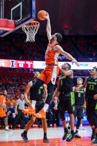 Illinois basketball overwhelmed by Penn State in second half