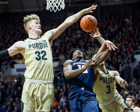Illinois drops third-straight to No. 14 Purdue