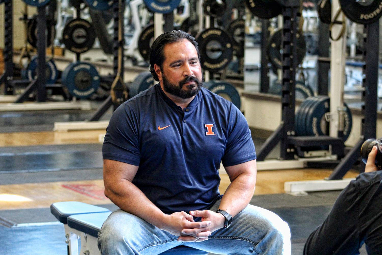 Lou Hernandez returns to Illinois after seven seasons at North Carolina. Hernandez also served as the Illini's strength and conditioning coach from 2005-2011 under Ron Zook.