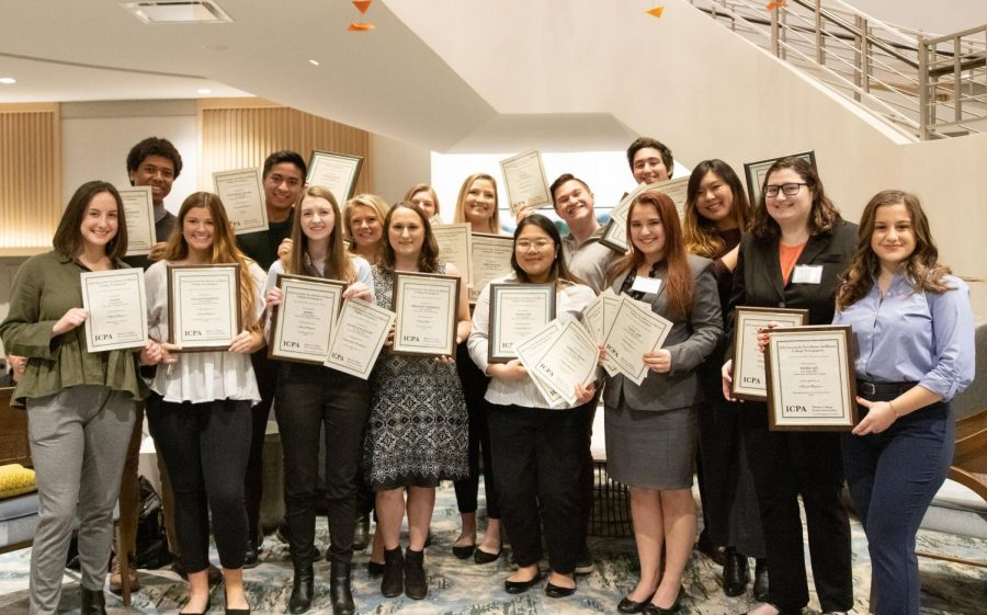 The Daily Illini staff traveled to Chicago on Saturday for the Illinois College Press Association award ceremony.