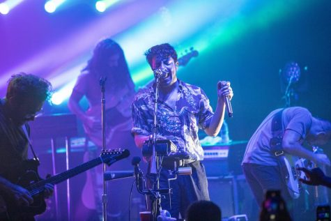 Young the Giant lights up The Canopy Club