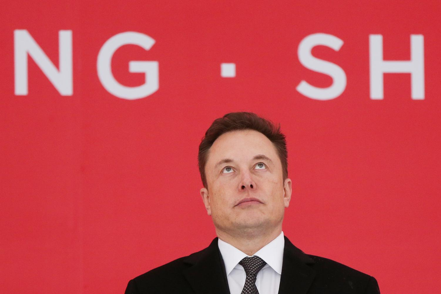 Tesla CEO Elon Musk attends the ceremony of Tesla Shanghai Gigafactory in Shanghai on Jan. 7. Columnist Fred Shoaff argues the company's inefficient business strategies will be its downfall.