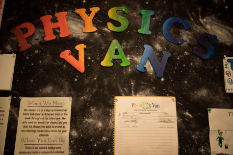 Physics Van drives kids to engage in science