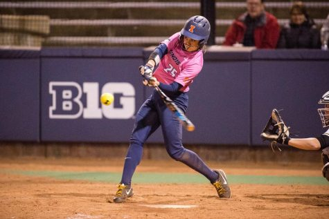 Softball beats Oklahoma State for first season win