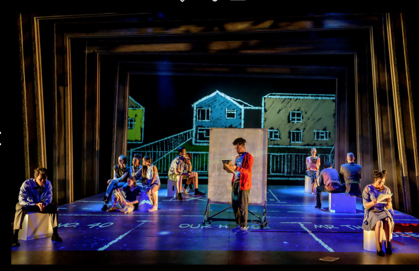 The Curious Incident of the Dog at Nighttime playing at the Illinois Theater on Feb. 18.