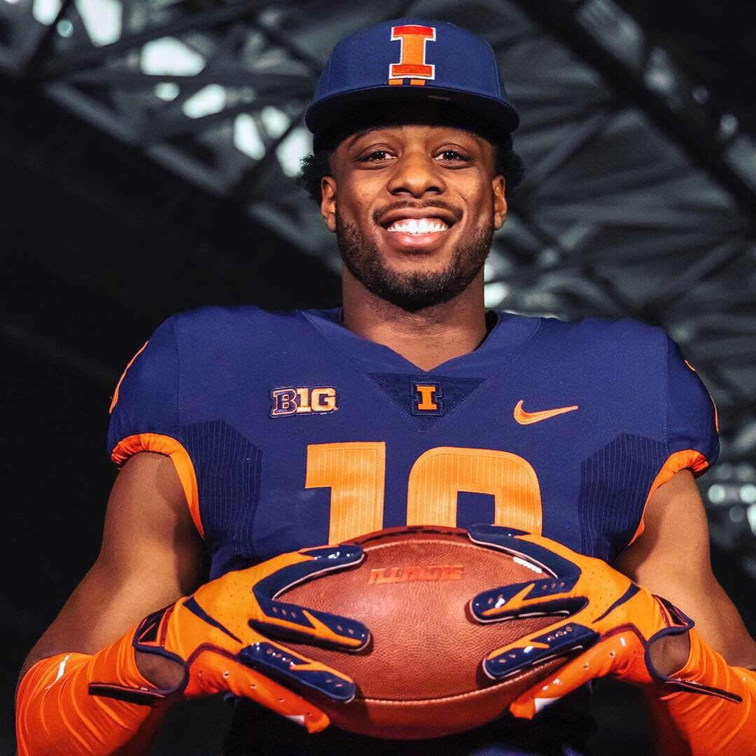 Richmond grad transfer Dejon Brissett took to Instagram and Twitter to announce his move to Champaign and back to the state of Illinois. The Canada played football for Lake Forest Academy in high school.
