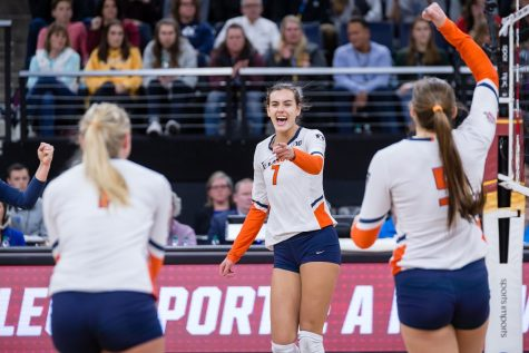 Illinois volleyball set to play spring schedule