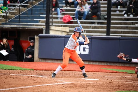 Illinois softball picks up home victory