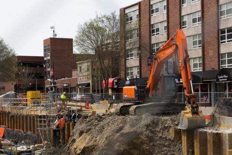 Sixth Street closes as construction progresses