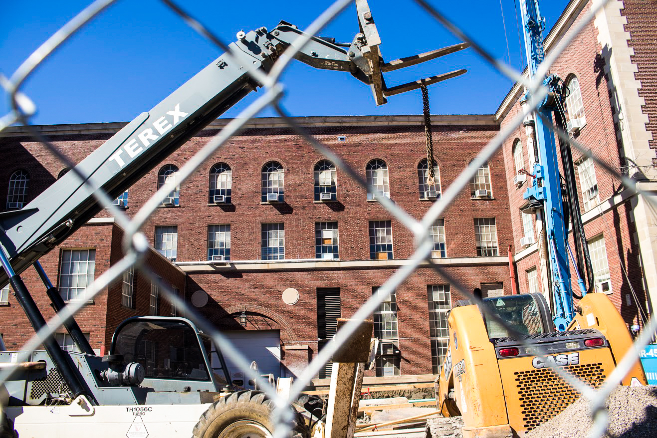 Talbot Laboratory is getting renovations to create more instructional space and include sustainable technology. The construction is expected to be completed by 2021.